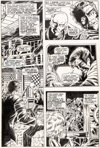 Barry Smith and John Verpoorten Tower of Shadows #3 Story Page 4 Original Art (Marvel, 1970)