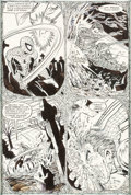 Original Comic Art:Panel Pages, Todd McFarlane Amazing Spider-Man #308 Story Page 13 Original Art (Marvel, 1988)....