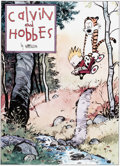 Memorabilia:Comic-Related, Bill Watterson Calvin and Hobbes Signed Limited Edition Lithograph Print #790/1000 (Watterson, 1992)....