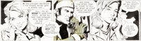 Al Williamson and Gray Morrow Secret Agent Corrigan Daily Comic Strip Original Art dated 2-9-71 (King Features Syn