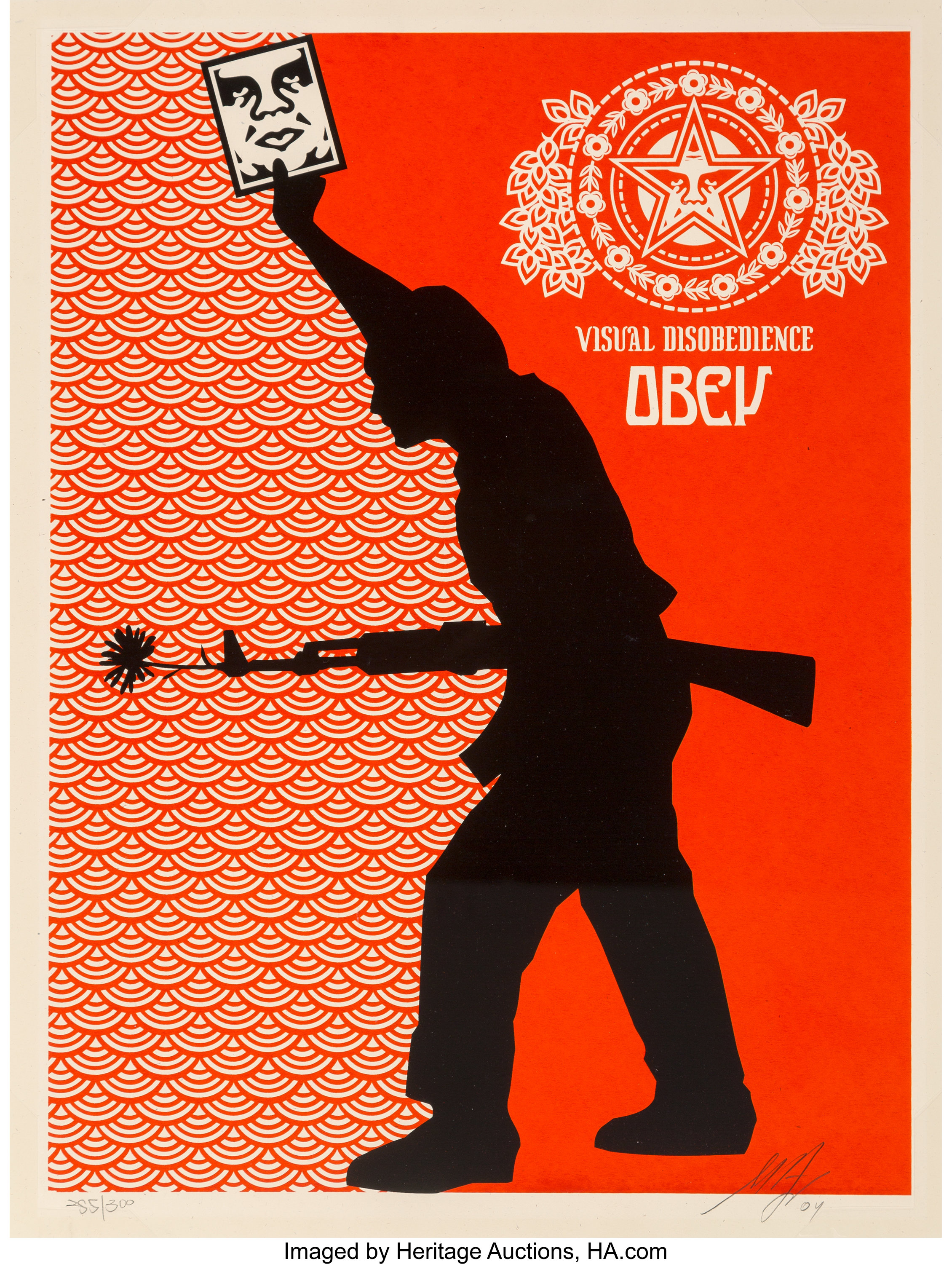 Shepard Fairey Disobey Obey Poster 16 x 20