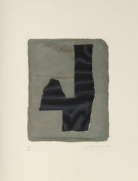 Giuseppe Santomaso (1907-1990) Untitled, 1976 Etching in colors on paper 17-5/8 x 13-1/2 inches (
