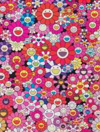 Takashi Murakami (b. 1962) An Homage to Monopink 1960 C, 2012 Offset lithograph in colors on smooth