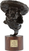 Sculpture, Paul Moore (American, b. 1957). Mexican Vaquero, 1983. Bronze with brown patina. 8 inches (20.3 cm) high on a 3 inches (...