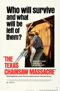 "Movie Posters:Horror, The Texas Chainsaw Massacre (Bryanston, 1974). Folded, Very Fine+. One Sheet (27"" X 41"").. ..."