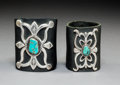 American Indian Art:Jewelry and Silverwork, Two Navajo Ketohs... (Total: 2 )