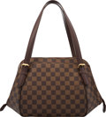 """Luxury Accessories:Bags, Louis Vuitton Damier Ebene Coated Canvas Belem MM Bag. Condition: 2. 13.5"""" Width x 8"""" Height x 6"""" Depth . ..."""
