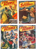Pulps:Science Fiction, Super Science Stories Group of 29 (Popular, 1940-51) Condition: Average FN-.... (Total: 29 Items)