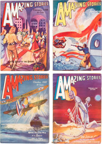 Amazing Stories Box Lot (Ziff-Davis, 1933-52) Condition: Average FN.... (Total: 4 Box Lots)