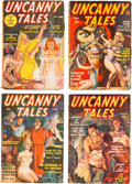 Pulps:Science Fiction, Uncanny Tales/Real Mystery Complete Series Group of 7 (Red Circle, 1939-40) Condition: Average FN-.... (Total: 7 Comic Books)