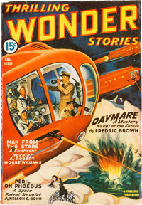 Thrilling Wonder Stories - Fall 1943 Yakima Pedigree (Standard) Condition: VF-