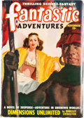 Pulps:Science Fiction, Fantastic Adventures - November 1948 Yakima Pedigree (Ziff-Davis) Condition: VF-....