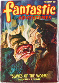 Fantastic Adventures - February 1948 Yakima Pedigree (Ziff-Davis, 1948) Condition: VF-