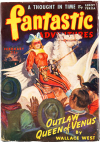 Fantastic Adventures - February 1944 Yakima Pedigree (Ziff-Davis) Condition: VF