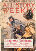 Pulps:Adventure, All-Story Weekly - August 9, 1919 (Miscellaneous Publishers) Condition: GD/VG....