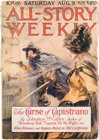 All-Story Weekly - August 9, 1919 (Miscellaneous Publishers) Condition: GD/VG