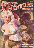 Pulps:Adventure, Spicy Adventure Stories - November 1934 (Culture) Condition: FR/GD....
