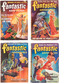 Fantastic Adventures Complete Series Box Lot (Ziff-Davis, 1939-53) Condition: Average FN.... (Total: 3 Box Lots)