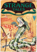 Pulps:Horror, Strange Tales - September 1931 August Derleth File Copy (Clayton) Condition: FN-....