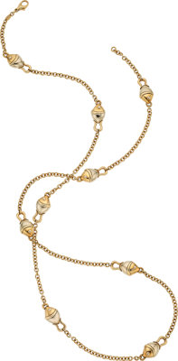 Gold Necklace, Bvlgari