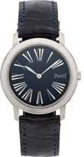 Estate Jewelry:Watches, Piaget Lady's Stainless Steel Watch. ...
