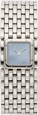 Cartier Lady's Stainless Steel Panthere Ruban Watch