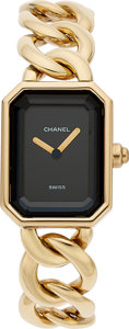Estate Jewelry:Watches, Chanel Lady's Gold Premiere Watch. ...