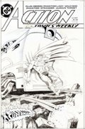 Original Comic Art:Covers, Murphy Anderson Action Comics #641 Cover Original Art (DC, 1989)....