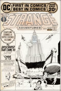 Original Comic Art:Covers, Murphy Anderson Strange Adventures #237 Cover Original Art (DC Comics, 1972)....