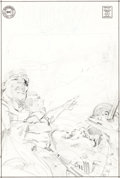 Original Comic Art:Covers, Neal Adams Challengers of the Unknown #67 Unpublished Cover Pencils Original Art (DC Comics, circa 1969)....