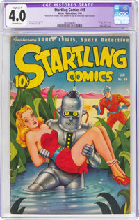 Startling Comics #49 (Better Publications, 1948) CGC Apparent VG 4.0 Slight (C-1) Off-white pages