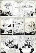 Original Comic Art:Panel Pages, Mike Zeck and Al Milgrom (attributed) Marvel Super-Heroes Secret Wars #12 Original Art (Marvel, 1985)....