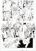 Original Comic Art:Panel Pages, Alan Davis and Mark Farmer Avengers #40 Story Page 22 Original Art (Marvel Comics, 2001)....