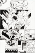 Original Comic Art:Panel Pages, Chris Bachalo and Al Vey Spider-Man vs. Deadpool #23 Story Page 12 Original Art (Marvel, 2018)....
