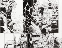 Chris Bachalo and Al Vey Doctor Strange #20 Pages 1 and 2 Original Art (Marvel Comics, 2017).... (Total: 2 Original Art)
