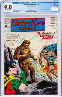 Detective Comics #312 (DC, 1963) CGC VF/NM 9.0 White pages