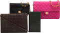 Luxury Accessories:Bags, Set of Four: Chanel Flap Bags, Hermès Wallet & Fendi Bag. Condition: 3. See Extended Condition Report for Sizes.... ... (Total: 4 )