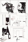 Original Comic Art:Panel Pages, Howard Chaykin Batman/Catwoman: Follow the Money #2 Story Page 31 Original Art (DC Comics, 2010)....