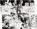 Original Comic Art:Panel Pages, Chris Bachalo, Al Vey, and Victor Olazaba Doctor Strange #19 Pages 9 and 10 Original Art (Marvel, 2017).... (Total: 2 Original Art)