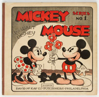 Mickey Mouse Comic Book 1 (David McKay Publications, 1931) Condition: FN