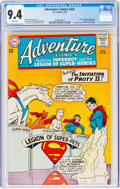 Silver Age (1956-1969):Superhero, Adventure Comics #322 (DC, 1964) CGC NM 9.4 White pages....