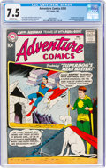 Silver Age (1956-1969):Superhero, Adventure Comics #269 (DC, 1960) CGC VF- 7.5 Off-white pages....