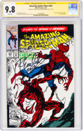 Modern Age (1980-Present):Superhero, The Amazing Spider-Man #361 Signature Series (Marvel, 1992) CGC NM/MT 9.8 White pages....