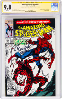 The Amazing Spider-Man #361 Signature Series (Marvel, 1992) CGC NM/MT 9.8 White pages