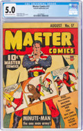 Golden Age (1938-1955):Superhero, Master Comics #17 (Fawcett Publications, 1941) CGC VG/FN 5.0 Cream to off-white pages....
