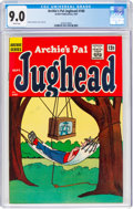 Silver Age (1956-1969):Humor, Archie's Pal Jughead #100 (Archie, 1963) CGC VF/NM 9.0 White pages....