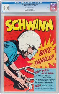 Schwinn Bike Thrills #nn File Copy (Schwinn, 1959) CGC NM 9.4 Off-white to white pages