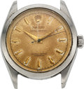 Timepieces:Wristwatch, Rolex, Oyster Perpetual, Stainless Steel, Ref. 6284, circa 1953 . ...