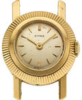 Timepieces:Wristwatch, Cyma, Lady's 14k Wristwatch. ...
