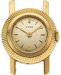 Cyma, Lady's 14k Wristwatch